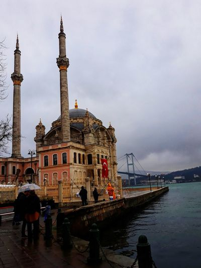 Historical #historicbuilding Mosque Istanbul Ortaköy Ortaköy Mosque Ortaköycamii City Water Architecture Sky Travel Historic Architectural Column Arch Bridge Office Building Historic Building City Gate Passageway Arcade Gondola - Traditional Boat