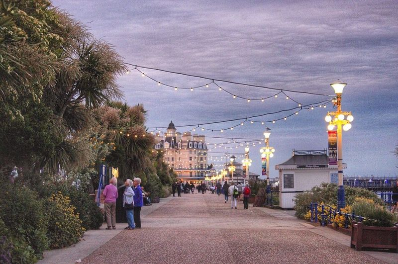 Nice evening walk in Eastbourne Wanderlust Traveling Hello World Capturing Freedom Travel Photography Sound Of Life Cityscapes United Kingdom Throwback Travel