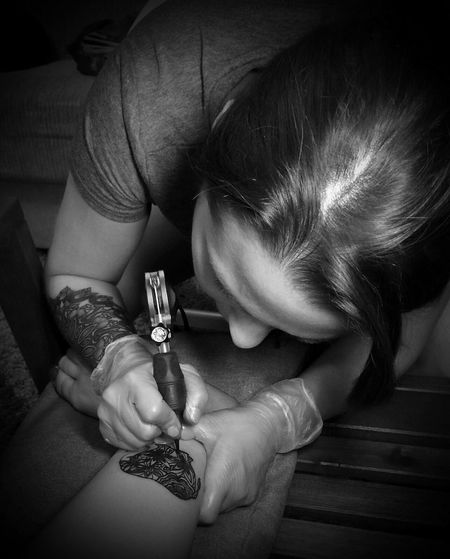 Get tattooing