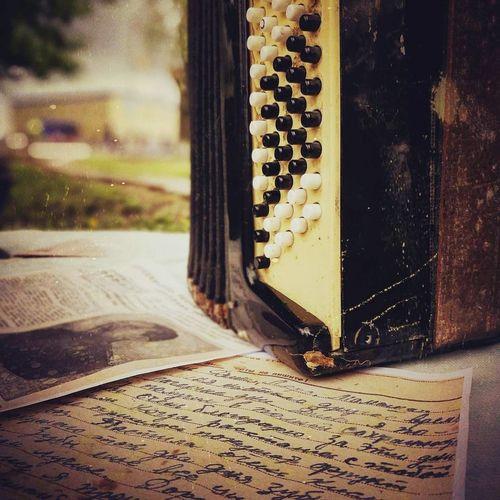 Письмо домой.