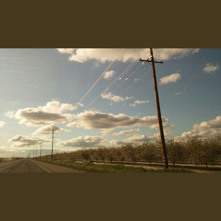 Driving home.... Clouds Nature Beautifulsky Sky Nature_collection Natureporn California