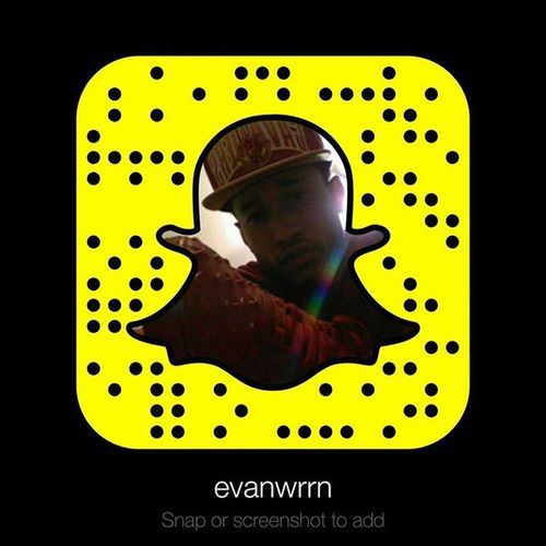 Add my Snapchat @evanwrrn_dse
