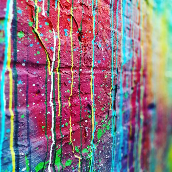 Multi Colored Full Frame Backgrounds No People Close-up Day Outdoors Graffiti Streetart Wall Art Outside Photography Berlinstyle