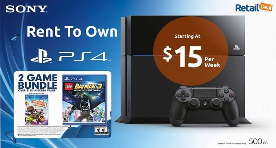 Shop Playstation 4 On Weekly Installments