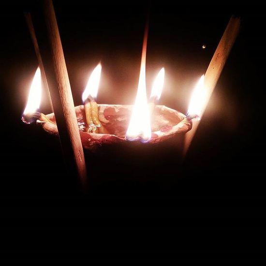 পঞ্চ প্রদীপ I Instadiwaliclick Diwali2015 Oillamps Photogenic  Photoforfollow .