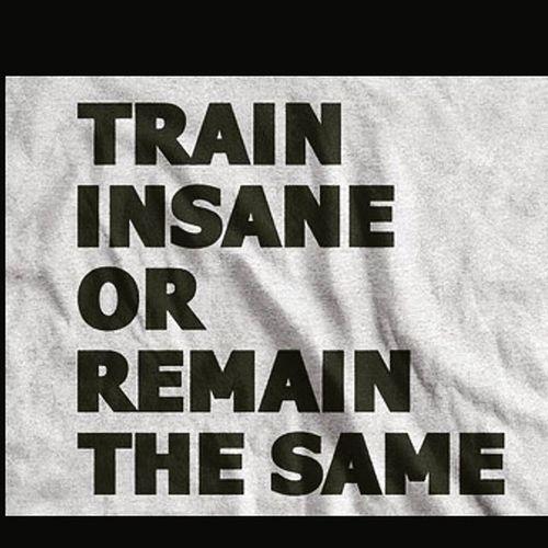 Simple rule of life ! Traininsaneorremainthesame Workouttobefitnotskinny Workout Fitness motivatingquotes motivation makedistractionyourdedication letsdothis achievewhatyouwant letsburncalories instadaily timetoworkout fightagainstfat tiredofbeingfat