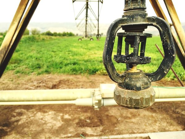 Lost In The Landscape Metal No People Close-up Machine Valve Focus On Foreground Valve Outdoors
