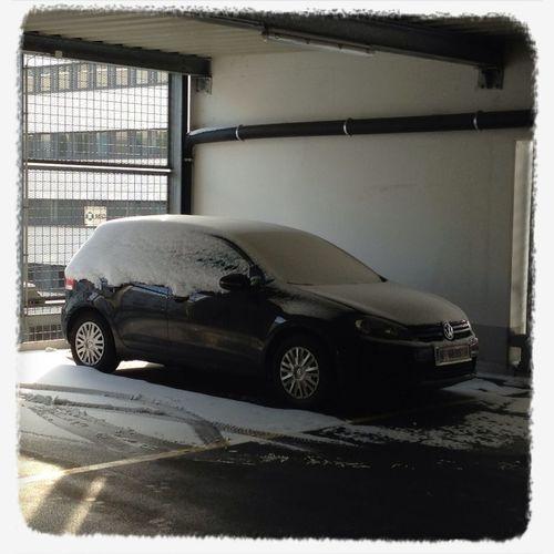 Abkehren In Der Parkgarage :-) #badluck