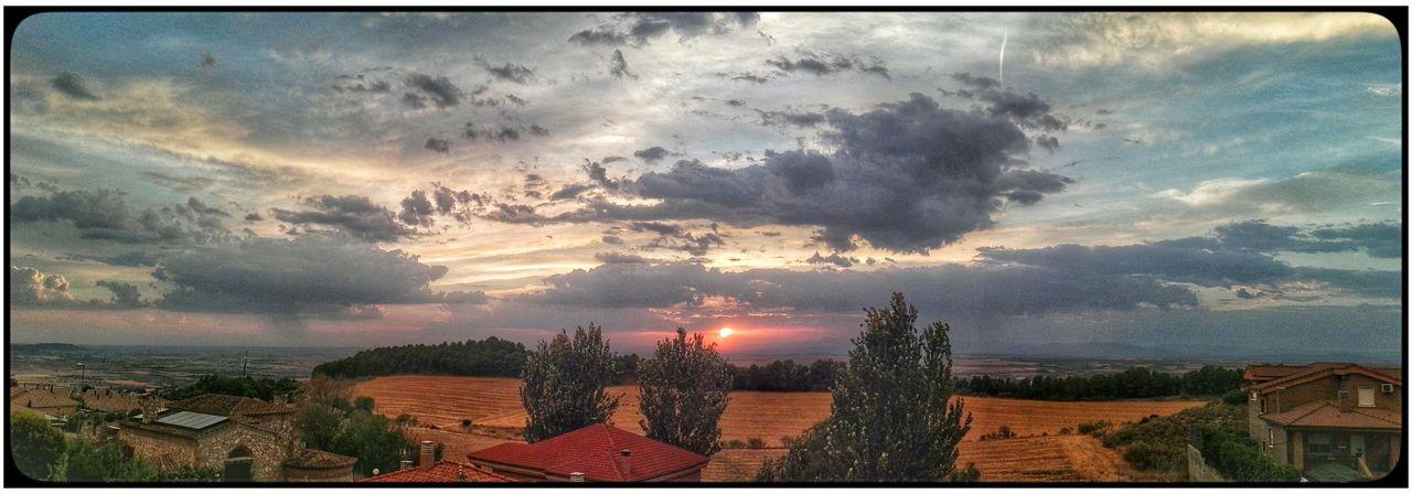 Sunset Tranquil Scene Cloudscape Summer First Eyeem Photo