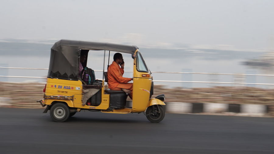 Baby steps in Panning Photography Transportation Vacations Outdoors Travel Day Two People Sea Adults Only Adventure Adult Sky Travel Destinations People Only Men Nature Young Adult Sony A6000 Sonyalpha Sony Alpha Photography Nwin Photography Panningphotography Panning EyeEm Panning Hyderabaddiaries Yellow