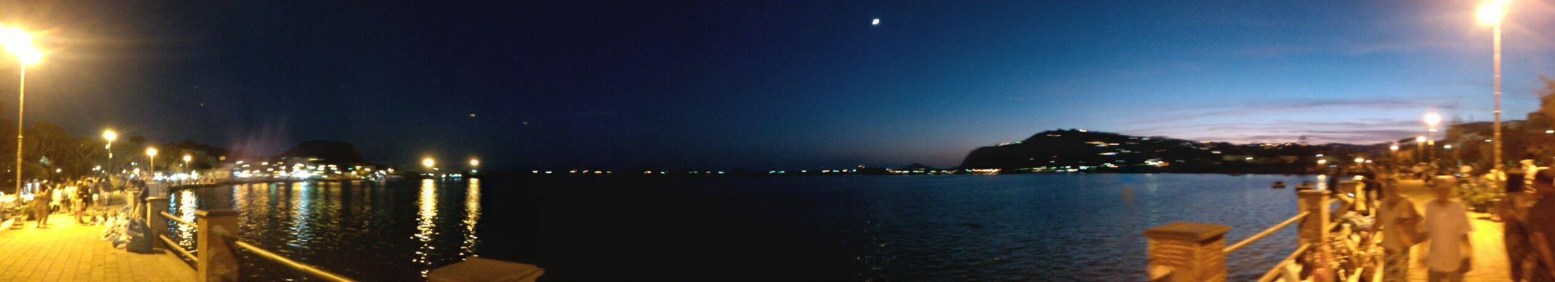 In night...