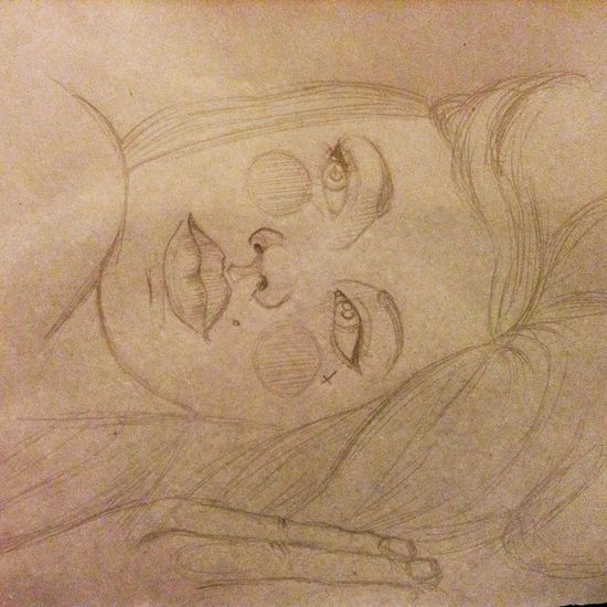 NOT DONE !!!!!!!!! Start drawing a New woman ? dDrawdDrawingaArtWWoman