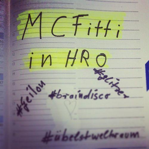 Vorfreude Mcfitti übelstgeilon Braindiscoenergy Brummer hitsundbrummertour rostock Konzert übelstweltraum jumpstylekarate ordentlichwasfüruntenrum