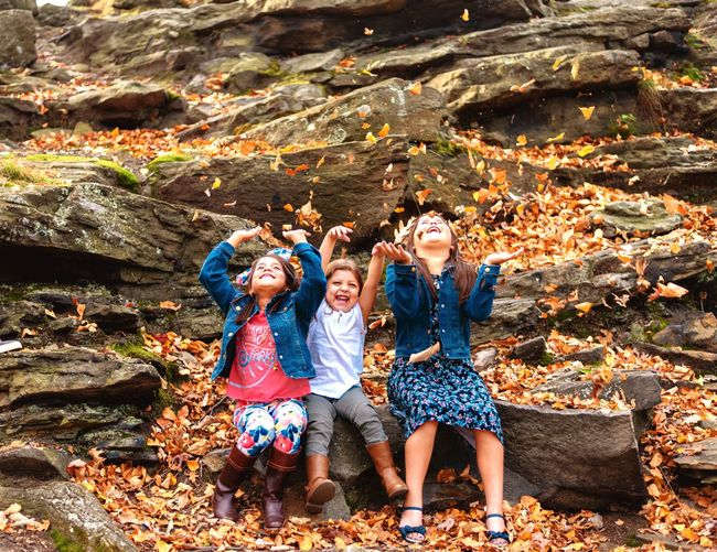 Nay Aug Park Friendship Togetherness Full Length Only Women Autumn Fun Happiness Bonding Outdoors Smiling Nature