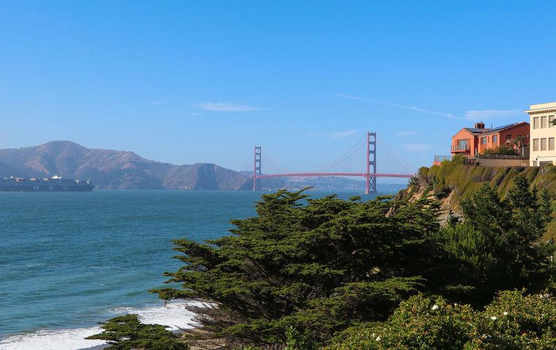 the view from China Beach in San Francisco. Chinabeachsf Sfbeach Beachview Goldengatenationalrecreationarea