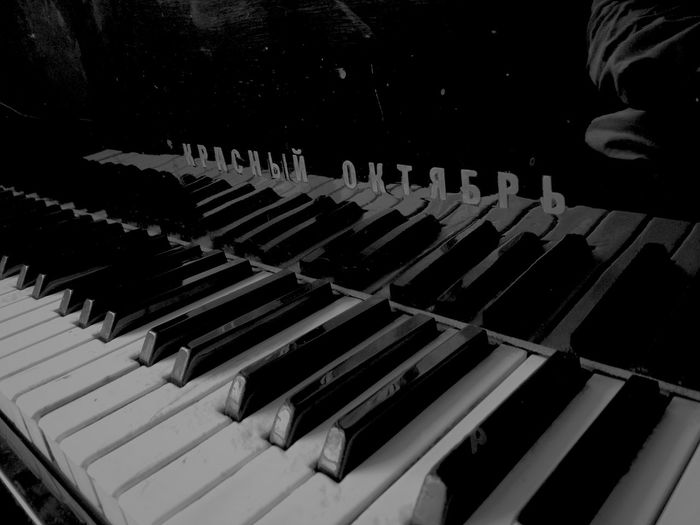 Black And White The Week On EyeEm EyeEmNewHere Discover Berlin Black Outdoors Piano Red October