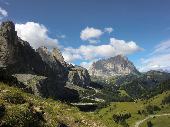 Dolomiten EyeEmNewHere Dolomites, Italy EyeEm Best Shots Beauty In Nature Day Landscape Mountain Nature No People Outdoors Range Scenics Sky