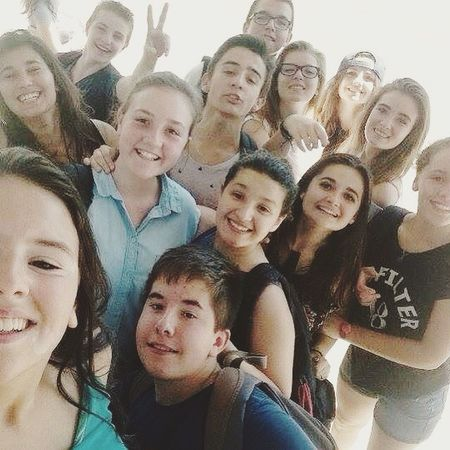 Last Day Of School Friends Taking Photos