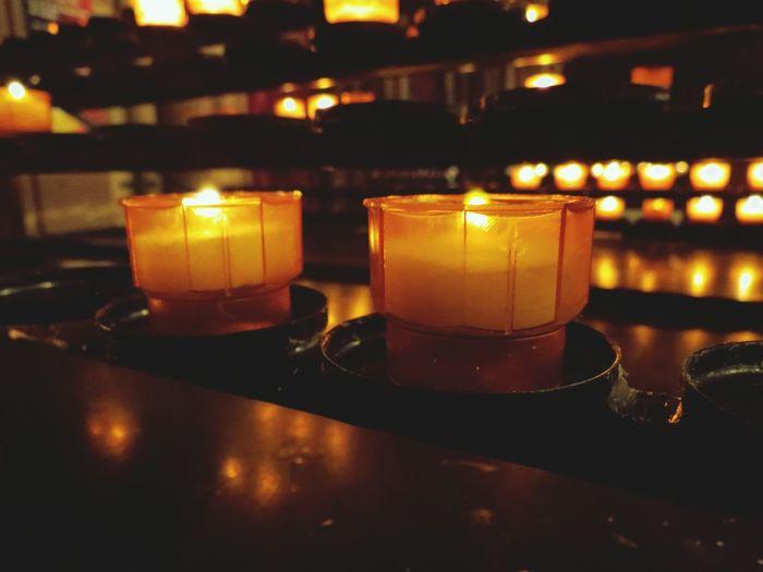 Candle Church Strasbourg
