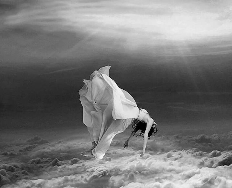 Black & White Night Photography Amazing Ciel