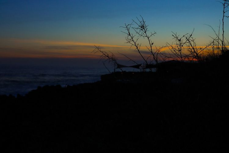 Sunset Silhouette Sky Nature Beauty In Nature Dusk No People Scenics Tranquil Scene Outdoors Tranquility EyeEm Nature Lover EyeEmNewHere Guincho Built Structure Tree Building Exterior Day