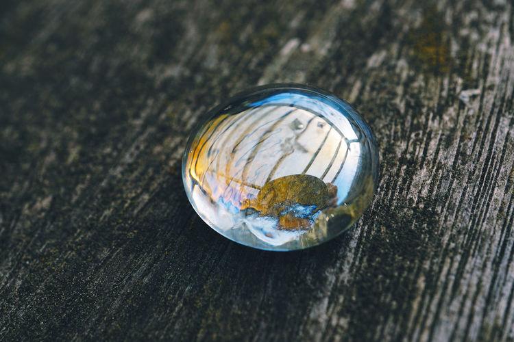 Crystal drop decoration