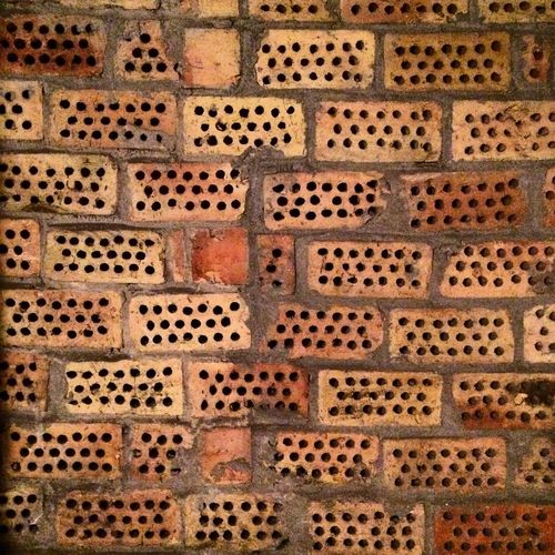 Brick Wall Bricks Dots And Lines Dot To Dot Cellar Close-up Design Detail No People Pattern Backgrounds