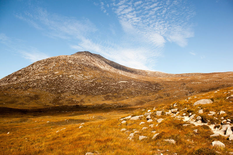 Beauty In Nature Cloud - Sky Day Goatfell  Isle Of Arran  Landscape Mountain Mountain Range Nature No People Outdoors Physical Geography Scenics Sky Tranquil Scene Tranquility Travel Destinations EyeEmNewHere The Great Outdoors - 2017 EyeEm Awards Your Ticket To Europe