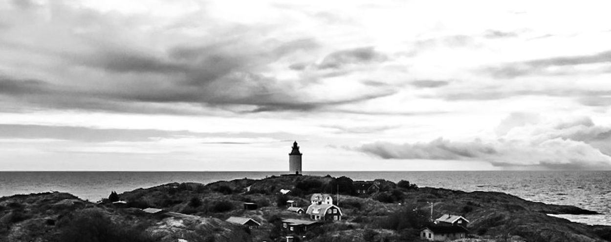 Archipelago of Sweden Discovering Great Works Eye4photography  EyeEm Best Shots Blackandwhite The Traveler - 2015 EyeEm Awards Black And White Architecture Lighthouse