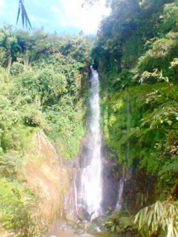 Curuk silawe Magelang City Central Java, Indonesia. Nature Adventure