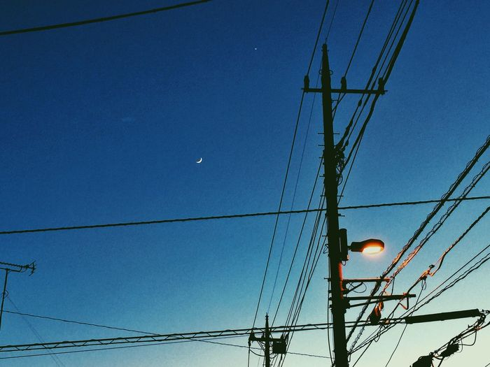 Okegawa Night Moonlight Moon