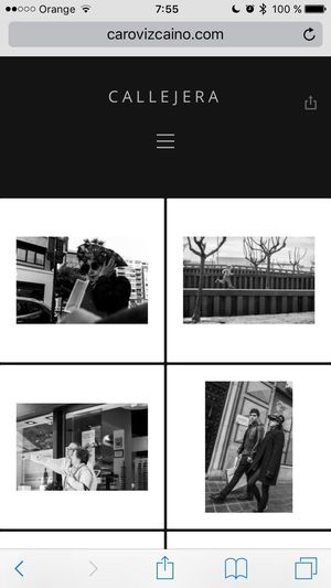 caro.vizcaino.com My new website under construction Streetphotography Blackandwhite Urbanphotography