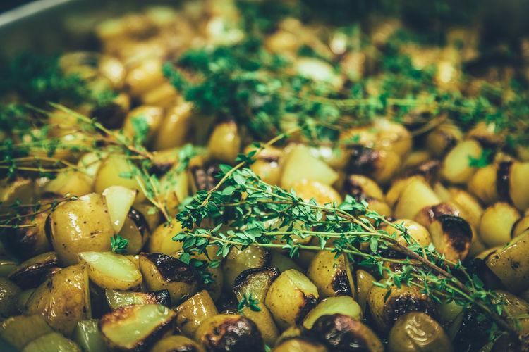 Close-Up Of Prepared Food