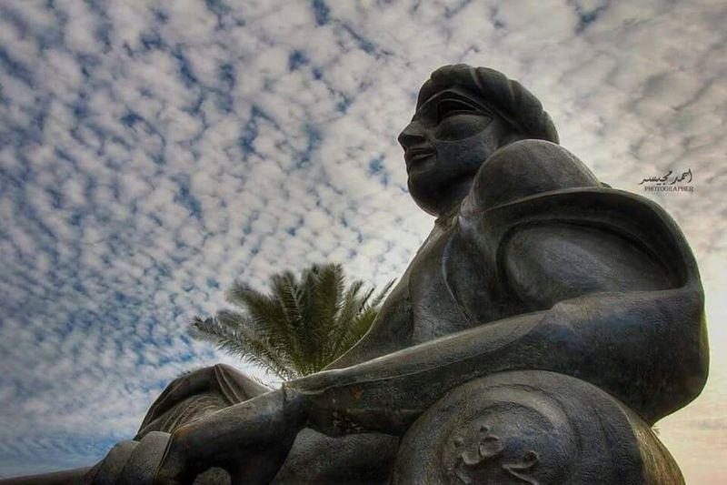 صورة رائعة وجميلة وعالية الدقة .... في جو رائع ... في شارع أبو نؤاس في بغداد
