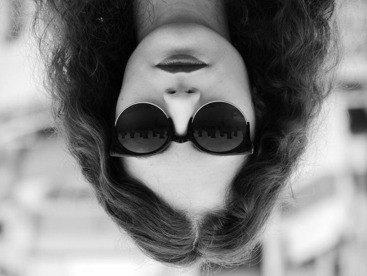 Turn down for what ? Backward Portrait NoSmilesToday Blackandwhite Photography Black & White Glasses Dramatic Act