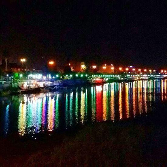 یه شب خوب بابلسر،پل بزرگ Milad .rze رودخونه بابلسر شب جالب قشنگ Shomalpic