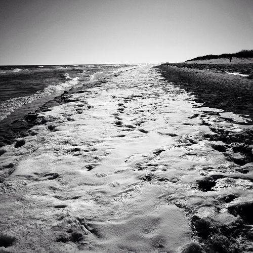 Spring? Life Is A Beach NEM Black&white