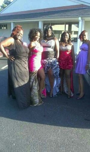 My Graduation Ball . We Looked Good . Lol .