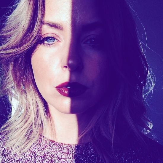Shadows & Lights Faces Of EyeEm Vscocam Girl Blue Eyes