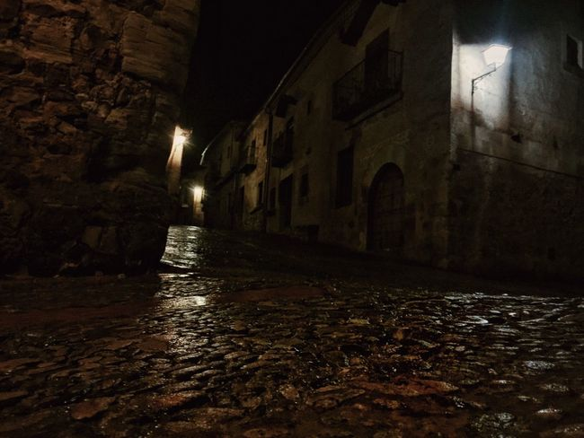 Pedraza de noche en la lluvia Rain Rural Rural Scenes Eye4photography  EyeEm Best Shots Dias De Lluvia I Love My City