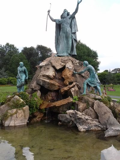 Discover Your City Washington Park Albany New York Statues
