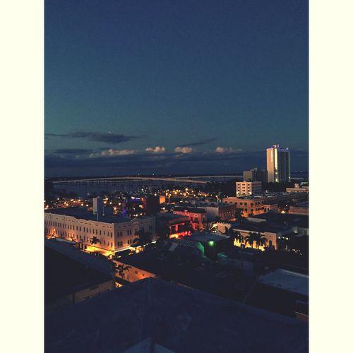 • bright lights