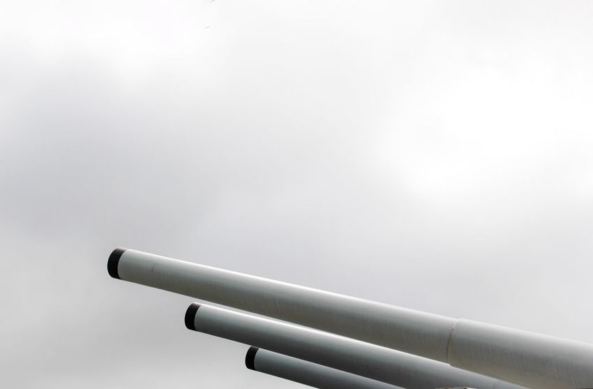 Close-up White Background Studio Shot Copy Space High Section Day Sky Canons Ordnance Guns Battleship Detail Historical Place USS Missouri Pearl Harbor Vacations No People Hawaii Battle Ship Patriotism Ship Historic Famous Place History Travel Destinations