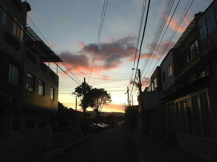 Atardecer No People Sky Day Skycolors Clouds Houses Picture Trees