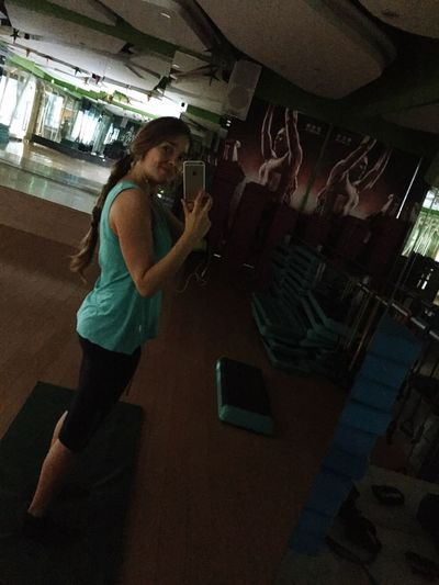 June 2015. Last Time at the Chinese Gym . Fitness is Core although still got my Little Belly - what? I like Delicious Food !