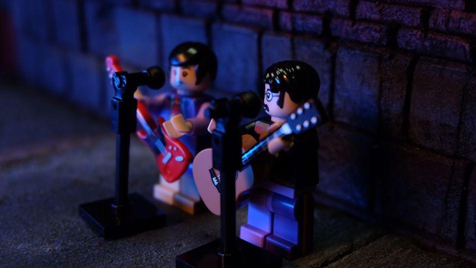 lennon & mc'cartney #Lego #thebeatles #toyphotography Childhood Boys