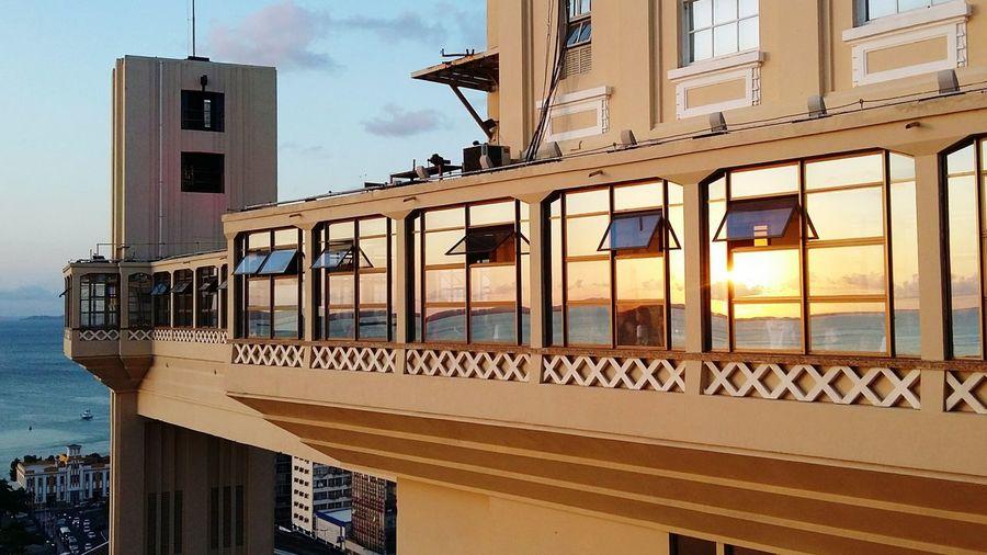 Hidden Gems  Salvador Bahia Elevador Lacerda Sunset Silhouettes Summer Views