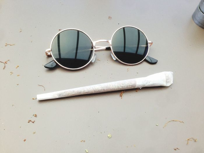Lazy days Lazy Sunday Cannabis Smoke Weed EyeEm Selects Glasses Fashion No People Sunglasses Still Life Personal Accessory First Eyeem Photo