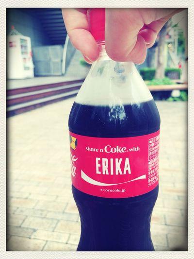 ラベル作ってもらいました Coca Cola Drink Nice My Name Is...