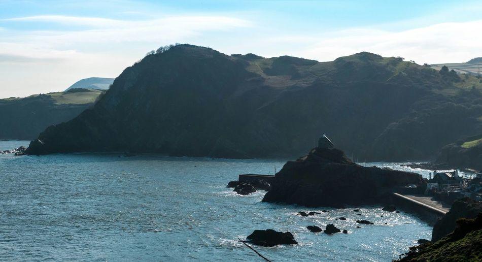 Sea View Sea Life Cliffside Cliffs Cliff Sea Sea And Sky